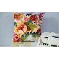 Buy cheap 100% Cotton Modern Square Throw Pillows / Sofa Cushions For Decorative from wholesalers