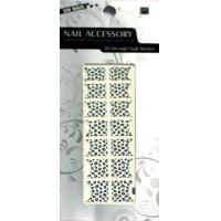 Quality ODM Removable Custom Glitter Beauty Manicure French Nail Stickers With Skin Ceramic for sale