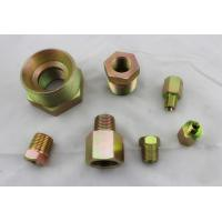 Buy cheap Male and Female Thread Hydraulic NPT Thread Adapters Zinc Plated Carbon Steel from wholesalers