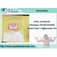 Buy cheap 99.9% Purity Local Anesthetic Drug Benzocaine In Mass Stock For Pain Relief from wholesalers