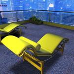 Buy cheap EAKA pvc factory hotsale pp yarn 100% pp office use durable waterproof non slip carpet floor from wholesalers