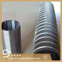 Buy cheap Hign Quality Johnson Wedge wire screen/deep well casing pipe from wholesalers