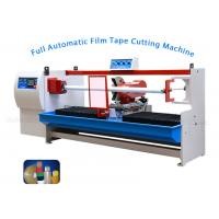 Buy cheap Automatic Plastic Film BOPP Tape Cutting Machine ,Thermal Paper Roll Cutting Machine from wholesalers