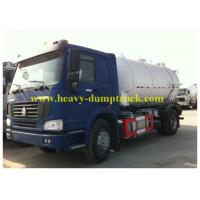 Buy cheap 400L Fuel Tank sewage suction truck 15 cbm 6X4 Drive 15 CBM ISO / CCC from wholesalers