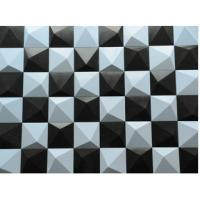 Buy cheap PVC Material Waterproof Exterior 3D Wall Panels Outdoor Wall Covering Stone Wall Background product
