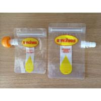 Buy cheap FDA certification reusable liquid food spout pouch with leakproof from wholesalers