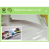 Buy cheap Custom Offset Printing Paper For Magazine And Textbooks 100% Wood Pulp Material from wholesalers