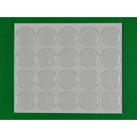 Buy cheap 26mm Clear round epoxy sticker product