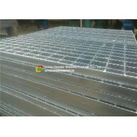 Buy cheap Serrated / I Bar Walkway Mesh Grating , Sidewalks Metal Walkway Decking product