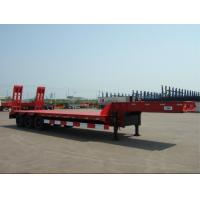 Buy cheap HOWO Truck Head Low Bed Trailer Steel Aluminum Flatbed Semi Trailer from wholesalers