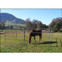 Buy cheap 1.8m Height Cattle Farm Panels , Animal Metal Horse Fence Panels Flexible from wholesalers
