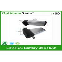 Buy cheap Deep Cycle Lithium Batteries For Electric Bikes , Lifepo4 10Ah 36V product
