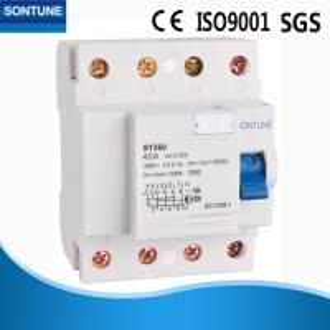 China Semko Double Pole RCCB Circuit Breaker , IP20 Grade Power Circuit Breaker on sale