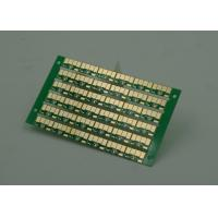 Buy cheap Golden Finish Single Sided PCB FR4 Green Soldermasking 1oz Copper from wholesalers