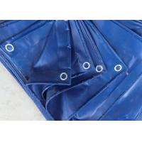 Buy cheap Sunproof Geomembrane Pond Liner 230gsm PE Tarpaulin Cover Blue Color product