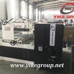 Buy cheap Corrugated Box Gluing Machine , Automatic Carton Box Folding Machine from wholesalers