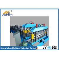 Buy cheap Steel metal profiles roll forming machine adopts new station to increase the solidity of machine from wholesalers
