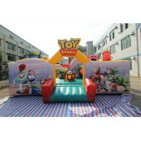 Buy cheap Cartoon Character Toy Story Inflatable Fun City For Children In Amusement Park from wholesalers