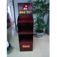 Buy cheap BWCD201916 Corrugated display stand Ice-cream Cardboard Floor Displays , Cardboard Counter Display Stands from wholesalers