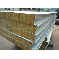 Buy cheap Anti Oxidation Metal Roof Panels Steel Structure Insulated Wall Panels from wholesalers