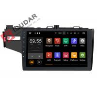 Buy cheap 1024*600 Honda FIT Car Stereo Multimedia Player System 10.1 Inch Support TPMS product
