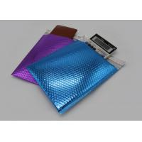 Shimmer Gloss Metallic Bubble Mailers , Sliver And Matte Padded Bubble Bags