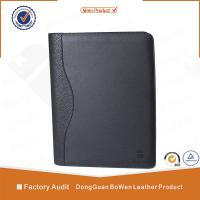 Buy cheap BWA-1 A4 SIZE zipper notebook / 2 ring binder portfolio from wholesalers