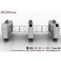 Buy cheap RFID Automatic Swing Barrier Gate Smart Arm Revolving Door Security Access Control Turnstile product