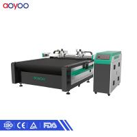 Buy cheap automatic suit Multilayer fabric garment paper pattern cutting machine product