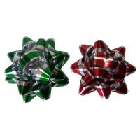 Buy cheap Decoration Star Gift Wrap Bows Iridescent Metallic And Holographic Material from wholesalers