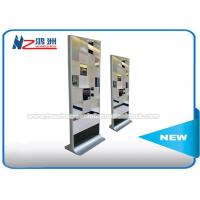 Buy cheap LCD Mirror Digital Touch Screen Information Computer Kiosk Cabinet With Motion Sensor from wholesalers