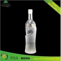 Buy cheap Special-Shape Embossing  Glass Bottle for Vodka from wholesalers