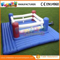 Buy cheap 0.5mm PVC Tarpaulin Inflatable Sports Games Wrestling Boxing Ring Sport Games from wholesalers