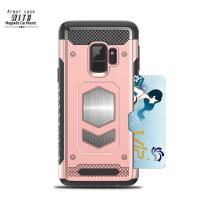 Buy cheap Durable Smartphone Protective Case With Ring Holder For Samsung / Huawei Mate10 / Electroplated Iphone X Case from wholesalers
