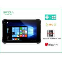 Buy cheap Waterproof Dustproof Shockproof 8inch Rugged Tablet Pc With NFC Barcode Scanner from wholesalers