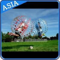 Buy cheap 1.7m Inflatable Bumper Ball , Inflatable Ball Suit , Soccer Bubble , Tpu Bubble Soccer from wholesalers