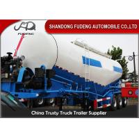 Buy cheap Professional V Type Cement Tanker Semi Trailer  Optional Volume 3 X 13 Ton Axles from wholesalers