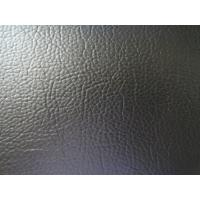 Buy cheap Black Color Embossed Leather Upholstery Waterproof for Home Textile, Decorative, Sofa from wholesalers