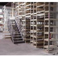 Buy cheap Mezzanine Floor Racking And Industrial Storage Rack Systems With Multi-level from wholesalers