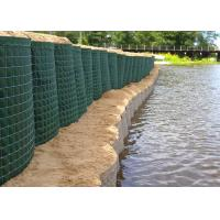 Buy cheap Long Life Welded Military Hesco Barriers / Gabion Mesh Box For Flood Control from wholesalers