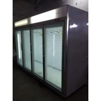 Buy cheap CE / RoHS Greenhealth Glass Door Freezer Environmentally Friendly from wholesalers
