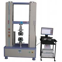 Buy cheap 300KN Universal Test Machines , Universal Test Equipment Closed-loop Control from wholesalers