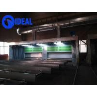 Buy cheap Hot selling high efficiency environmental telescopic movable type spray booth from wholesalers