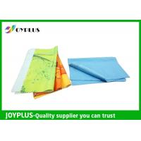 Buy cheap Eco Friendly Microfiber glass cleaning Cloth , Colorful Microfiber Lens Cleaning Towel from wholesalers