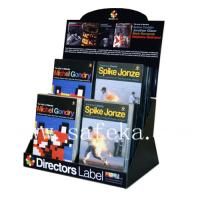 Buy cheap CD/VCD Counter Displays,Retail CD/VCDs Corrugated Table top Display Box from wholesalers
