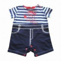 Buy cheap Babies' Rompers/Pyjamas/Onsies, Infant Overall, Material without Azo from wholesalers