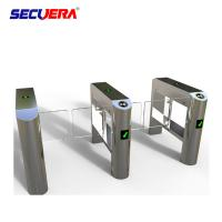Buy cheap Finger print access control system automatic ESD security access control flap barrier gate from wholesalers