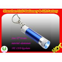 Buy cheap OEM metal Aluminium Led light up keychain torch  gifts product