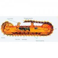 Buy cheap sumitomo undercarriage parts-track roller carrier roller idler track chain from wholesalers