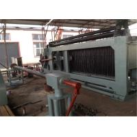 Professional Chicken Mesh Making Machine , Steel Wire Machine With Automatic Oil System